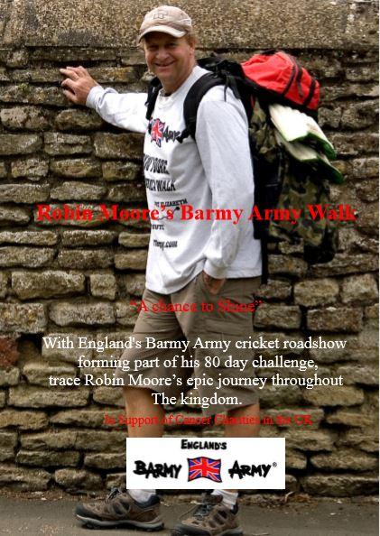 Barmy Army UK Walk